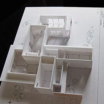 0711松橋の家模型